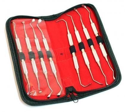 8 Sinus Lift Instruments set Implant Dental Hollow Handle