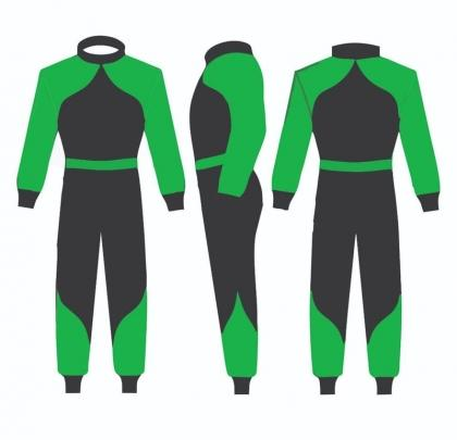 Sublimated Go Kart Racing Suits