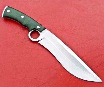 Custom Handmade D2 Steel hunting Kukri Knife