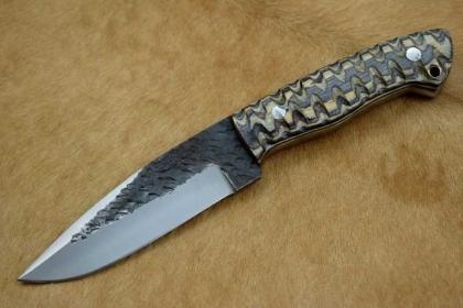 Handmade 1095 Steel Hunting Skinner Knife