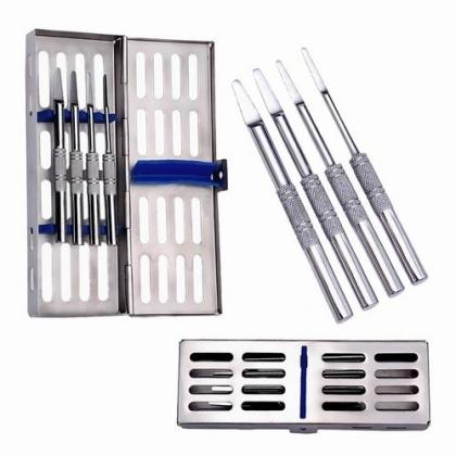 Tatum D Shaped Spreaders 4 Pcs Set with Cassette