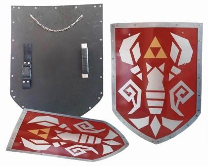 Phantom Hourglass Steel Shield of Antiquity Triforce