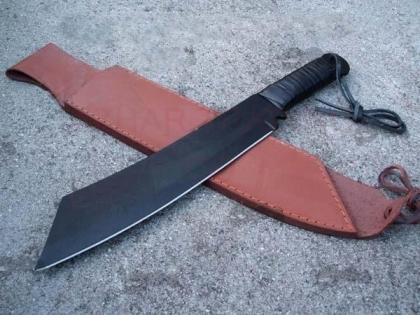 Rambo 4 Machete Black Blade