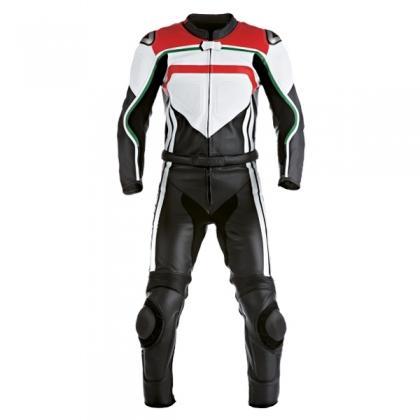 Motorbike 2pc leather suit